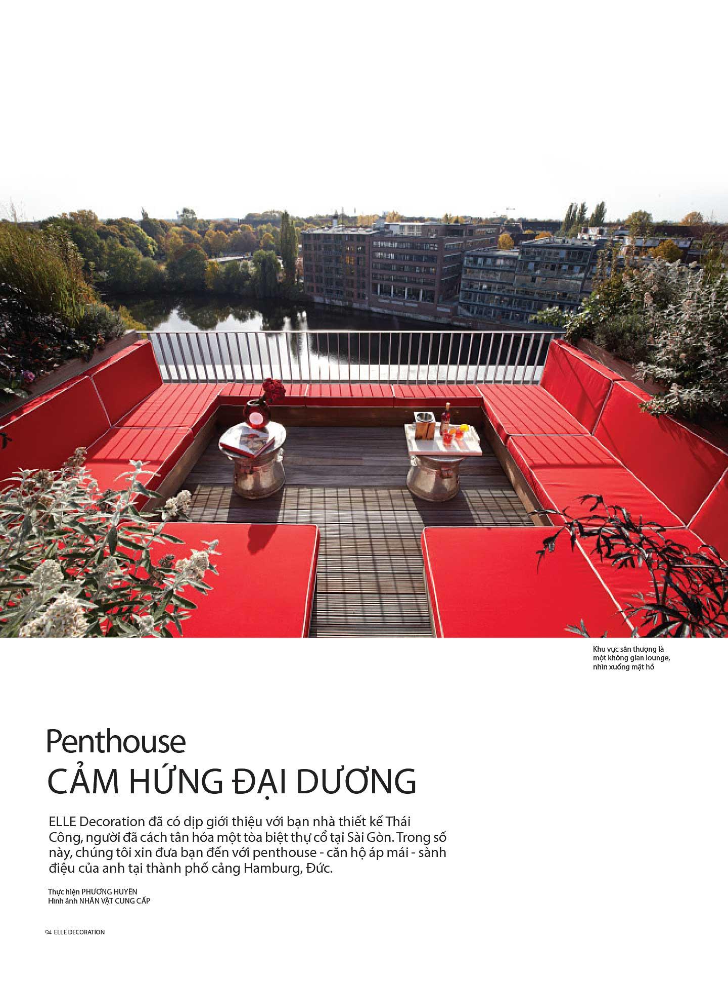 Penthouse cảm hứng đương đại