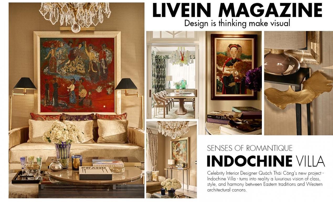 Senses of Romantique: Indochine Villa