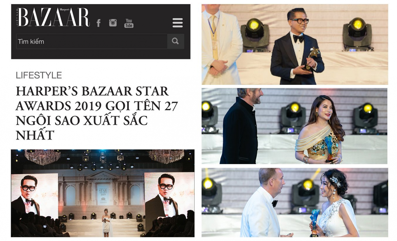 HARPER'S BAZAAR STAR AWARDS 2019 GỌI TÊN 27 NGÔI SAO XUẤT SẮC NHẤT