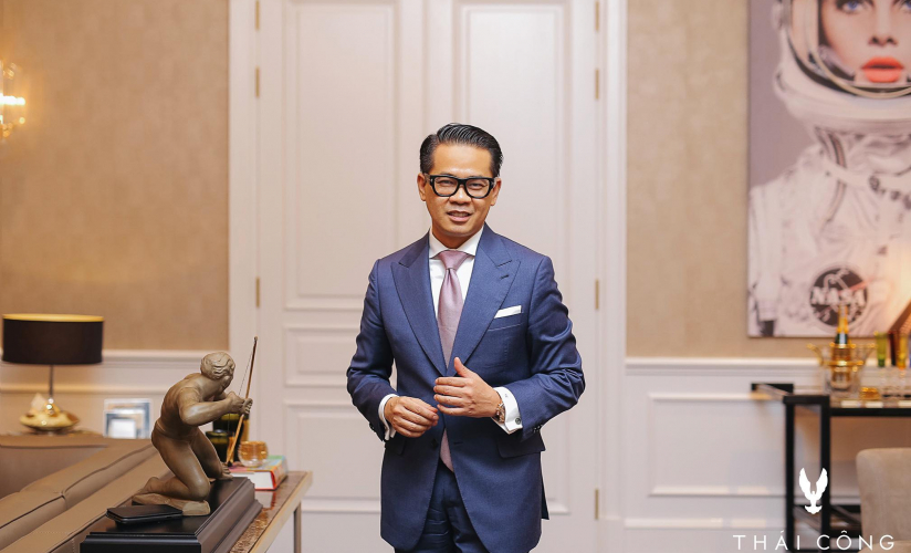 The discussion about style with designer Quách Thái Công