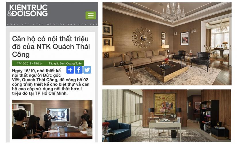 Căn hộ có nội thất triệu đô của NTK Quách Thái Công